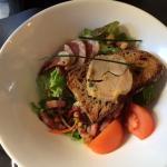 Assiette Perigourdine foie gras Maison