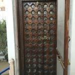 Door to the peacock room