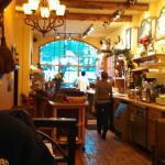 Inside of Pavz Restaurant