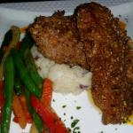 Pecan herb crusted chicken