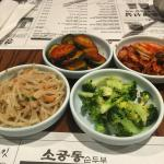 Banchan from So Kong Dong