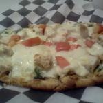 Chicken Flatbread Pizza