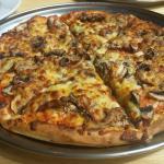 Mushroom Pizza - medium size $12.50