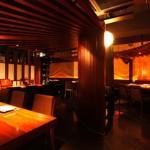 Charcoal cuisine Kobe beef Ikuta Foto