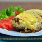 Mousaka meat