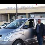 Notre chauffeur à l'aéroport de Fes