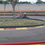 Karting with the racers 2013