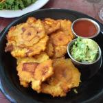 Fried plantain appetizer- delicious!