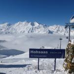 im Skigebiet auf 3142m ü.M.