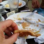 comidas del bar ( hotel exe cataratas )