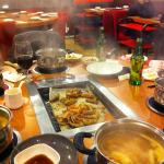 Hot Pots and barbecue