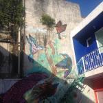 El mural de colibríes