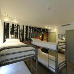 Chambre de 6 personne/6 bedded room