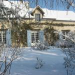 la maison, l'hiver
