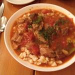Goulash with spaetzle