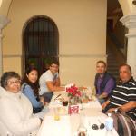 En el restaurant del hotel