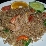 Basil Shrimp Fried Rice