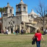 Mission Concepcion in San Antonio trolley tour