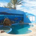 Our new pool and Sea of Cortez mural