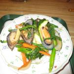Hot Plate Seafood with mussels