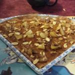 Crêpes pommes caramélisées avec amandes