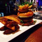 Special veggie JC burger
