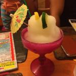 Lemon margarita slushie - so good!