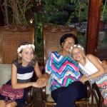 The girls with their Nica Grandmother!