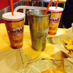 Piña colada milkshake!!  Yummy
