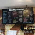Good selection of coffees