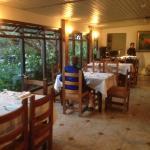 Inside dining room