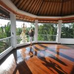 Meditation Studio. You can use the Studio for your own yoga practice when available.