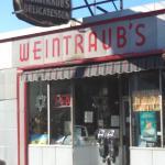 Weintraub's from the street