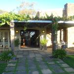 attractively designed entrance