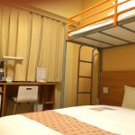 ロフトベッド付きの部屋