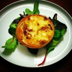Quiche with Goat cheese, Figs and Honey