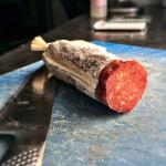 Finocchiona salame - 2 month dry period, imported Calabrese spices November 28 - January 20th