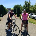 Wine tours by bikes! SO fun!