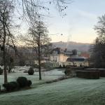 Arrivée au Château en hiver