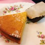 The lemon polenta and gingerbread.(£2.5 each)