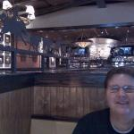 Enjoying lunch at Longhorn Steakhouse, Pearland, Tx