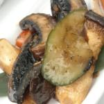 Satay Mushrooms with Butter