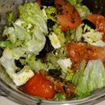salads from the bakery down the block