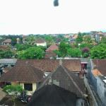 View over Ubud from hotel balcony