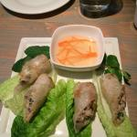 Gluten free Imperial rolls: perfectly cooked!