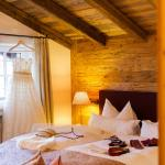 Comfortable beds and beautiful interior - the suite bedroom. There is a balcony in the room as w