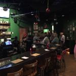 The Green Room lounge, bar and eatery.