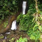Falls by lower mineral bath