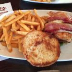 2 Whiskey Glaze Chicken Sandwich - Tasty, but seemed dry with limited amount of glaze
