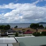 a room with a view of Lake Rotorua